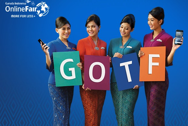 Garuda Online Travel Fair